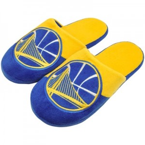 """Golden State Warriors Colourblock Slide Slipper – Mens"""