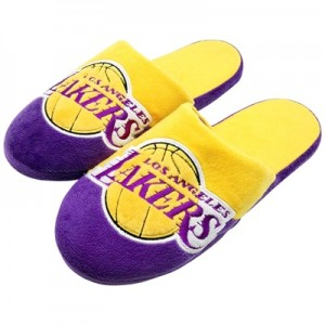 """Los Angeles Lakers Colourblock Slide Slipper – Mens"""