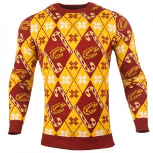 """""""Cleveland Cavaliers 2017 Candy Cane Ugly Jumper"""""""