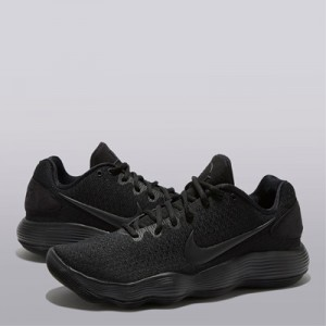 """Nike Hyperdunk 2017 Low Basketball Shoe – Black/Black-Dark Grey – Mens"""