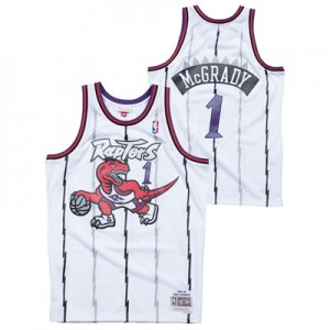"""Toronto Raptors Tracy McGrady Hardwood Classics Home Swingman Jersey -"""