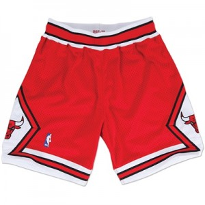 """Chicago Bulls Authentic Road Short By Mitchell & Ness – Mens"""