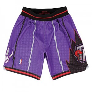 """Toronto Raptors Authentic Road Short By Mitchell & Ness – Mens"""