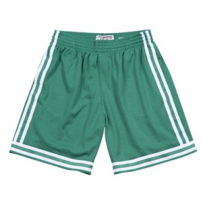 """Boston Celtics Hardwood Classics Road Swingman Short – Mens"""