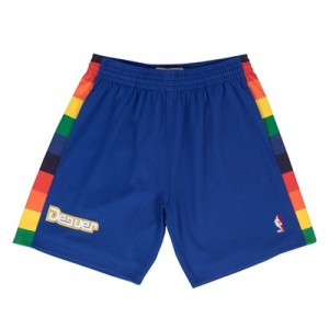 """Denver Nuggets Hardwood Classics Road Swingman Short – Mens"""
