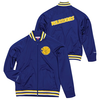 """""""Golden State Warriors Hardwood Classics Top Prospect Track Jacket By M"""""""
