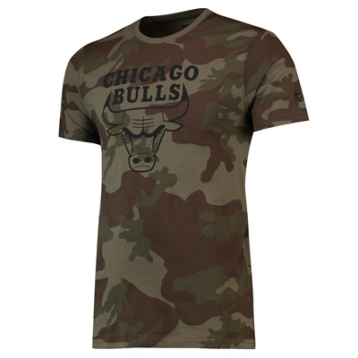 """Chicago Bulls New Era Camo Graphic T-Shirt – Mens"""