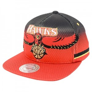 """Atlanta Hawks Hardwood Classics Jersey Hook Up Mesh Crown Snapback Cap"""