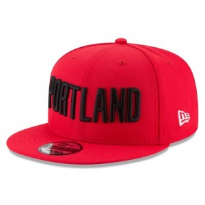 """Portland Trail Blazers New Era 9FIFTY On-Court Statement Edition Snapb"""