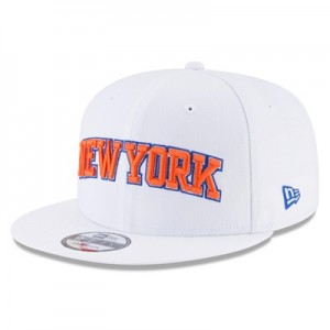 """New York Knicks New Era 9FIFTY On-Court Statement Edition Snapback Cap"""