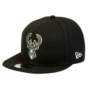"""Milwaukee Bucks New Era 9FIFTY On-Court Statement Edition Snapback Cap"""
