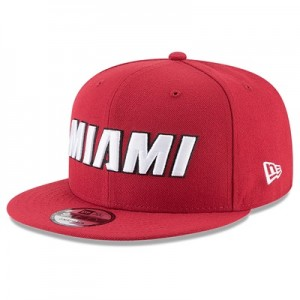 """Miami Heat New Era 9FIFTY On-Court Statement Edition Snapback Cap"""