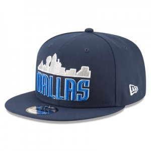"""Dallas Mavericks New Era 9FIFTY On-Court Statement Edition Snapback Ca"""