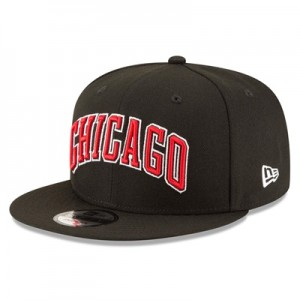 """Chicago Bulls New Era 9FIFTY On-Court Statement Edition Snapback Cap"""