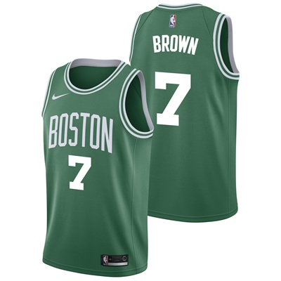 """Boston Celtics Nike Icon Swingman Jersey – Jaylen Brown – Mens"""