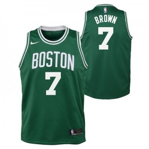 """Boston Celtics Nike Icon Swingman Jersey – Jaylen Brown – Youth"""