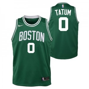 """Boston Celtics Nike Icon Swingman Jersey – Jayson Tatum – Youth"""