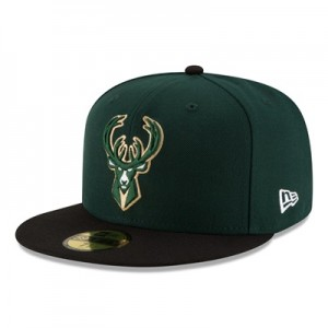 """Milwaukee Bucks New Era 59FIFTY Fitted Cap"""