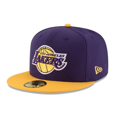 """""""Los Angeles Lakers New Era 59FIFTY Fitted Cap"""""""