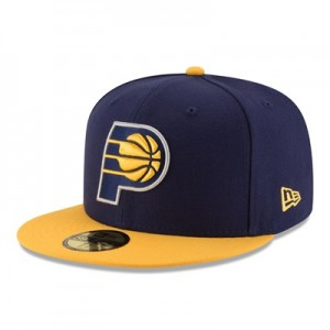 """Indiana Pacers New Era 59FIFTY Fitted Cap"""