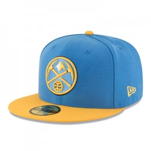 """Denver Nuggets New Era 59FIFTY Fitted Cap"""