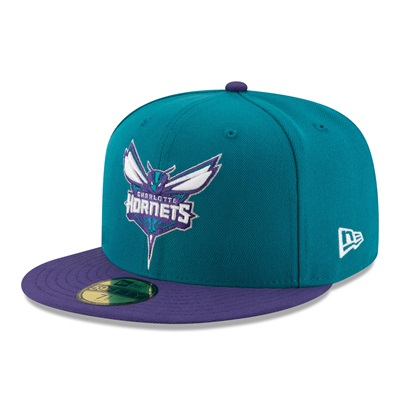 """Charlotte Hornets New Era 59FIFTY Fitted Cap"""