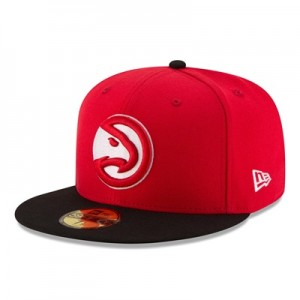 """Atlanta Hawks New Era 59FIFTY Fitted Cap"""