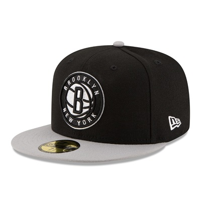"""Brooklyn Nets New Era 59FIFTY Fitted Cap"""