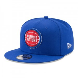 """Detroit Pistons New Era 9FIFTY Snapback Cap"""