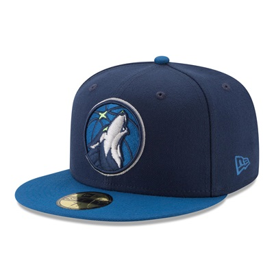 """Minnesota Timberwolves New Era 59FIFTY Fitted Cap"""