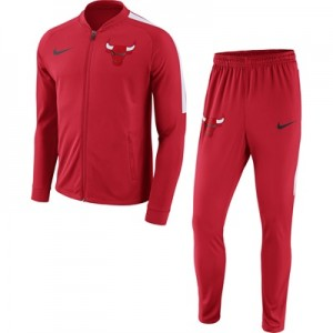 """Chicago Bulls Nike Dry Tracksuit – Red – Mens"""