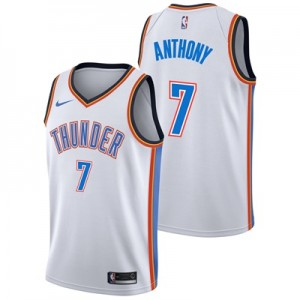 """Oklahoma City Thunder Nike Association Swingman Jersey – Carmelo Antho"""