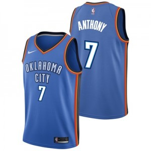 """Oklahoma City Thunder Nike Icon Swingman Jersey – Carmelo Anthony – Me"""