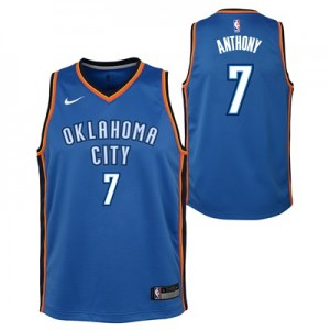 """Oklahoma City Thunder Nike Icon Swingman Jersey – Carmelo Anthony – Yo"""