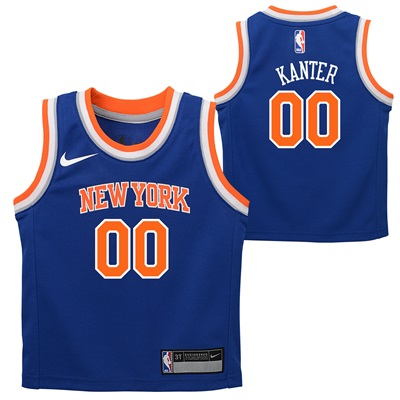 """New York Knicks Nike Icon Replica Jersey – Enes Kanter – Infant"""
