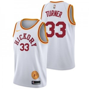 """Indiana Pacers Nike Classic Edition Swingman Jersey – Myles Turner – M"""