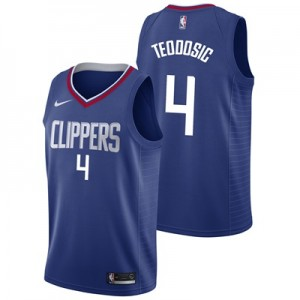 """LA Clippers Nike Icon Swingman Jersey – Milos Teodosic – Mens"""