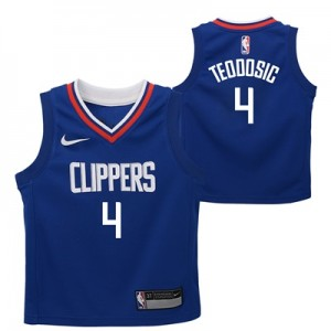 """LA Clippers Nike Icon Replica Jersey – Milos Teodosic – Kids"""