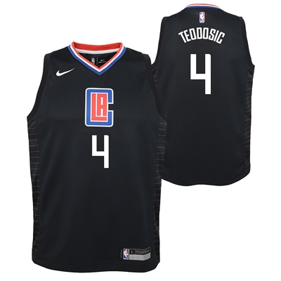 """LA Clippers Nike Statement Swingman Jersey – Milos Teodosic – Youth"""