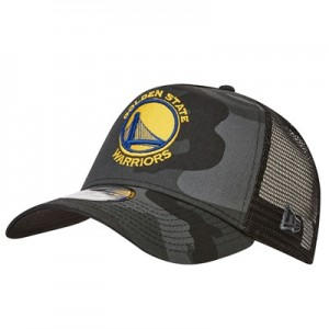 """Golden State Warriors Camo Trucker Cap"""