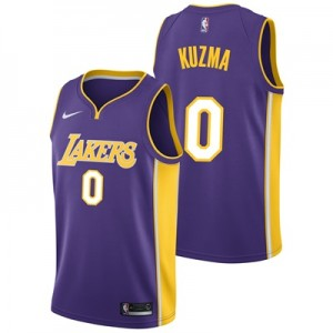 """Los Angeles Lakers Nike Statement Swingman Jersey – Kyle Kuzma – Mens"""