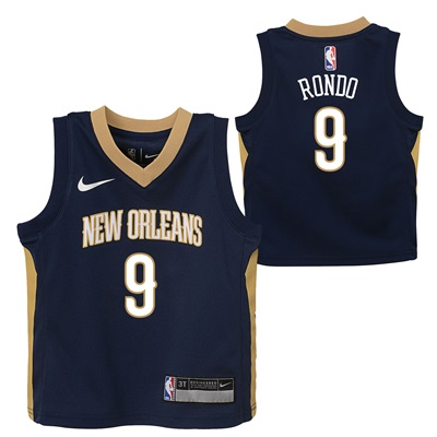 """New Orleans Pelicans Nike Icon Replica Jersey – Rajon Rondo – Infant"""