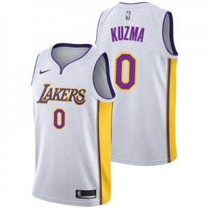 """Los Angeles Lakers Nike Association Swingman Jersey – Kyle Kuzma – Men"""