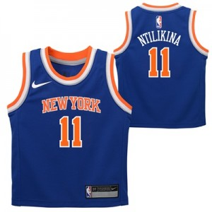 """New York Knicks Nike Icon Replics Jersey – Frank Ntilikina – Infant"""
