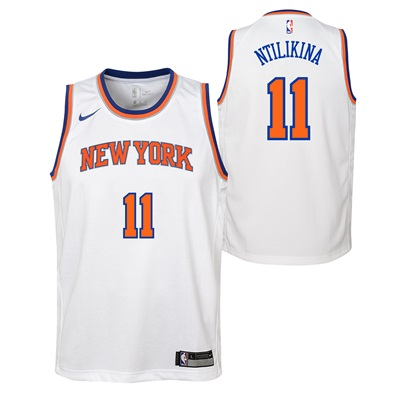 """New York Knicks Nike Association Swingman Jersey – Frank Ntilikina – Y"""