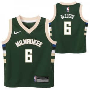 """Milwaukee Bucks Nike Icon Replica Jersey – Eric Bledsoe – Kids"""