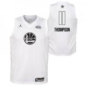 """NBA All-Star 2018 Jordan White Swingman Jersey – Klay Thompson – Youth"""