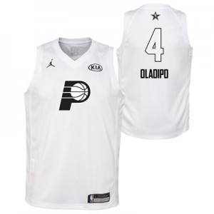 """NBA All-Star 2018 Jordan White Swingman Jersey – Victor Oladipo – Yout"""