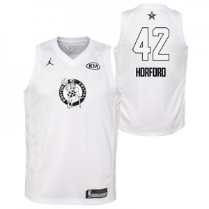 """NBA All-Star 2018 Jordan White Swingman Jersey – Al Horford  – Youth"""