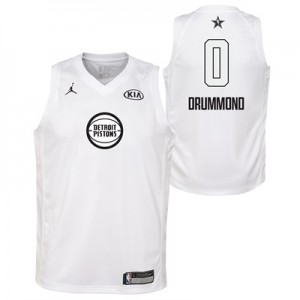 """NBA All-Star 2018 Jordan White Swingman Jersey – Andre Drummond – Yout"""